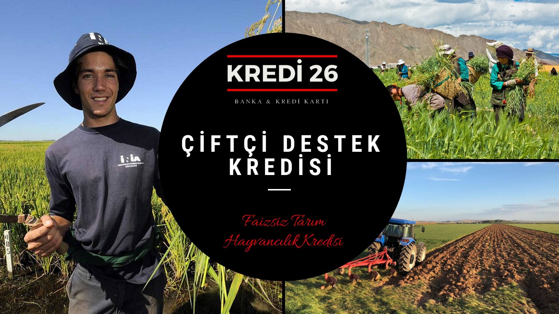 Faizsiz Çiftçi Kredisi Şartları, Genç Çiftçi Kredisi Ziraat Bankası