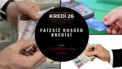 Faizsiz KOSGEB Kredisi, KOSGEB 50 bin TL faizsiz kredi başvuru ekranı