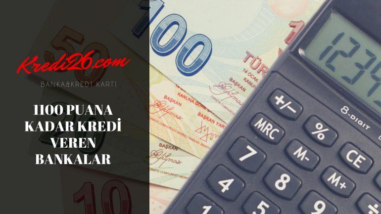 1100 Puana Kadar Kredi Veren Bankalar, Az Riskli Olanlara Kredi Veren Bankalar