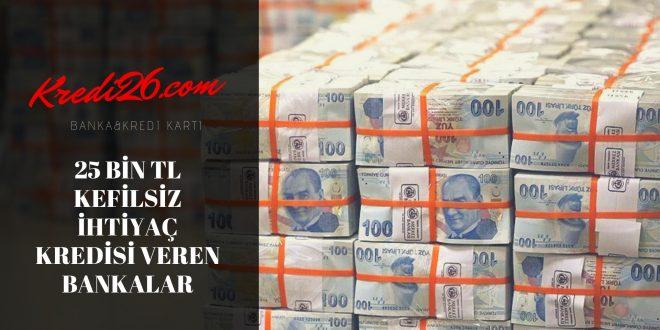 Kefilsiz 20 Bin TL Kredi Veren Bankalar Hangileridir?