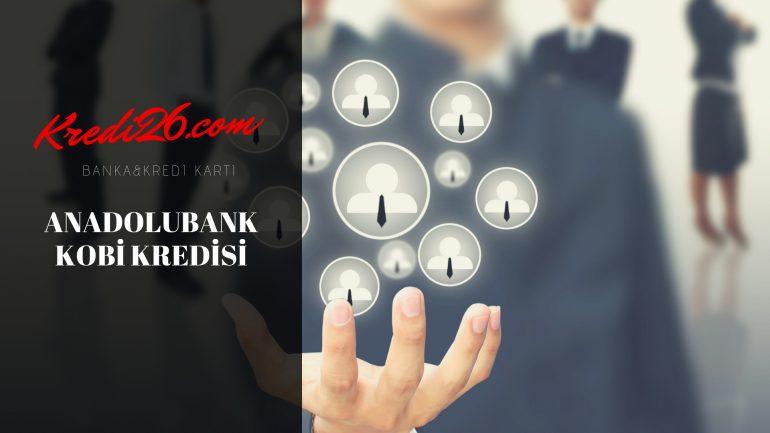 Anadolubank Kobi Kredisi ( Ticari Kredi), Anadolubank Esnaf Kredisi Hesaplama
