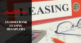 Anadolubank Leasing Şahıs ve Şirketler