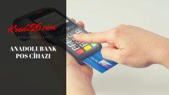 Anadolubank POS Cihazı, Anadolubank İşletme Pos
