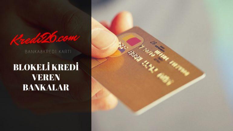 Blokeli Kredi Veren Bankalar, Nakit Blokaj Karşılığı Kredi