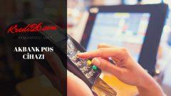Akbank POS Cihazı, Akbank Pos Başvurusu ( Akbank Pos Yazar Kasa)