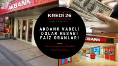 Akbank Vadeli Dolar Hesabı Faiz Oranları,  Faiz Hesaplama | Mevduat Faiz Hesaplama