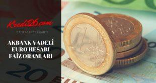 AKBANK Mevduatlar, Faiz Oranı, Getiri -EUR