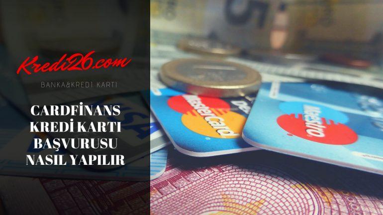 Cardfinans Kredi Kartı Başvurusu Nasıl Yapılır, QNB Finansbank kredi kartı başvurusu SMS ve İnternet üzerinden