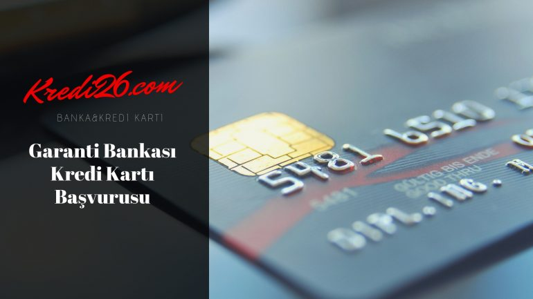 Garanti Bankası Kredi Kartı Başvurusu, Bonus Card (Kredi Kartı) Başvuru Formu