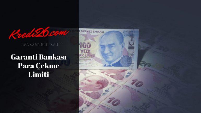 Garanti Bankası Para Çekme Limiti, Paramatik Günlük İşlem Limitleri | Garanti Bankası