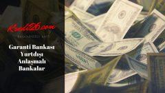 Garanti Bankası Yurtdışı Anlaşmalı Bankalar, Paracard Bonus | Yurtdışı Kullanım