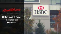 HSBC Vadeli Dolar Hesabı Faiz Oranları, Faiz Oranları   Mevduat Ürünleri   Günlük Bankacılık   HSBC
