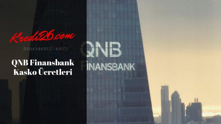 QNB Finansbank Kasko Ücretleri, Taşıt Sigortaları – QNB Finansbank
