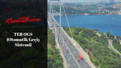 TEB OGS ( Otomatik Geçiş Sistemi), Online OGS Bakiye ve Ceza İşlemleri