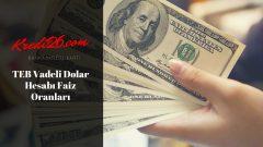 TEB Vadeli Dolar Hesabı Faiz Oranları, E-Mevduat Hesabı ve Faiz Oranları | Türk Ekonomi Bankası – Teb