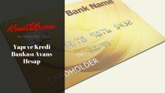 Yapı ve Kredi Bankası Avans Hesap, Esnek Hesap   Bireysel Krediler   Yapı Kredi