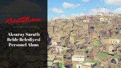 Aksaray Saratlı Belde Belediyesi Personel Alımı, Başvuru Şartları