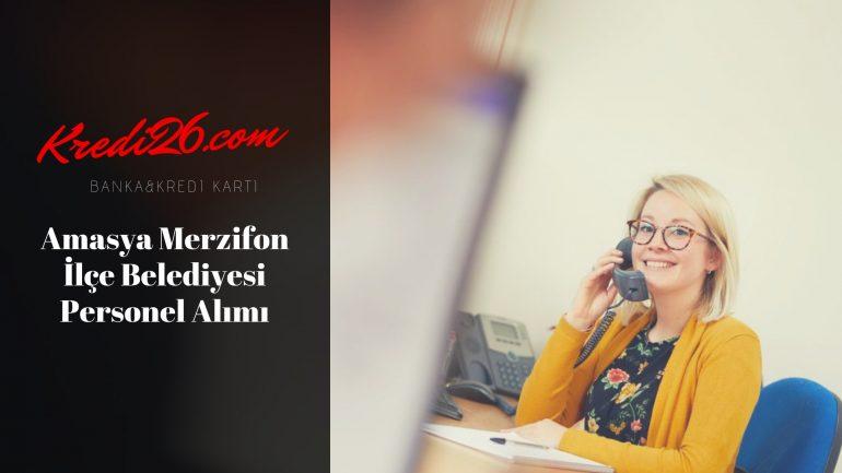 Amasya Merzifon İlçe Belediyesi Personel Alımı, Başvuru Şartları