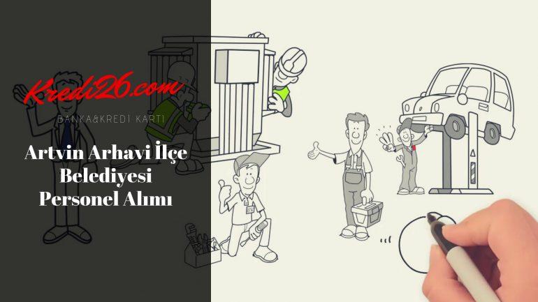 Artvin Arhavi İlçe Belediyesi Personel Alımı, Başvuru Şartları