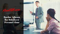 Burdur Ağlasun İlçe Belediyesi Personel Alımı, Başvuru Şartları