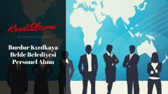 Burdur Kızılkaya Belde Belediyesi Personel Alımı, Başvuru Şartları