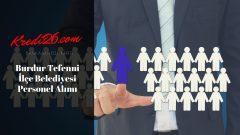 Burdur Tefenni İlçe Belediyesi Personel Alımı, Başvuru Şartları