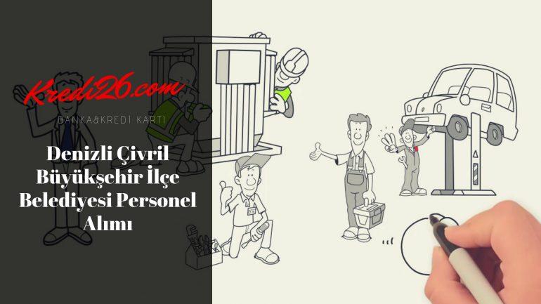 Denizli Çivril Büyükşehir İlçe Belediyesi Personel Alımı, Başvuru Şartları
