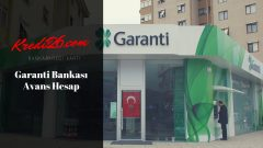 Garanti Bankası Avans Hesap, Avans Hesap Hesaplama ve Başvuru