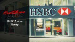 HSBC Avans Hesap, taksitli nakit avans hesap makinesi – HSBC