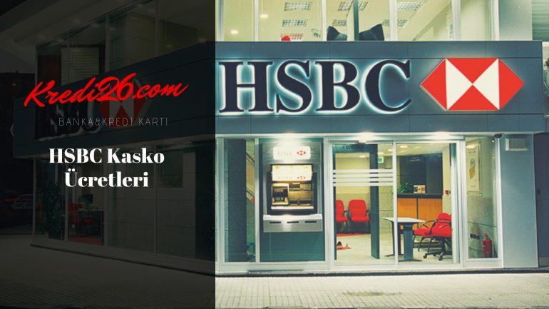 HSBC Kasko Ücretleri, Kasko Sigorta Poliçesi   HSBC