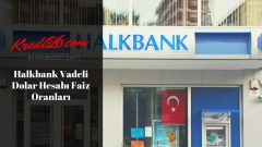 Halkbank Vadeli Dolar Hesabı Faiz Oranları, Vadeli Mevduat Faiz Hesaplama Tutar: Döviz Cinsi