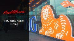 İng Bank Avans Hesap, Destek Hesap | ING Bank