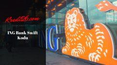 İng Bank Swift Kodu, Döviz Transferi (SWIFT)