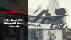 Odeabank OGS ( Otomatik Geçiş Sistemi), Ogs bakiye yükleme işlemleri