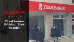 Ziraat Bankası HGS (Hızlı Geçiş Sistemi), Ziraat Bankası HGS Etiket Ücreti