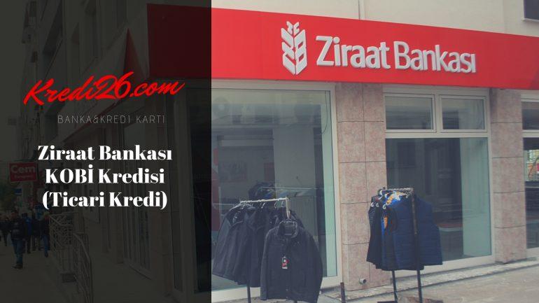 Ziraat Bankası KOBİ Kredisi (Ticari Kredi), KOBİ Destek Kredisi