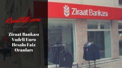 Ziraat Bankası Vadeli Euro Hesabı Faiz Oranları, Ziraat Bankası Vadeli Hesap Özellikleri
