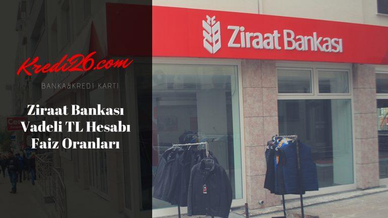 Ziraat Bankası Vadeli TL Hesabı Faiz Oranları, Ziraat Bankası Vadeli Altın Mevduat Hesabı