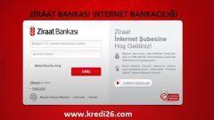 Ziraat İnternet Bankacılığı (Giriş, Açma, İşlemler)