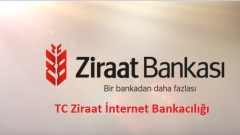 TC Ziraat İnternet Bankacılığı (Şifre Al, Telefon)
