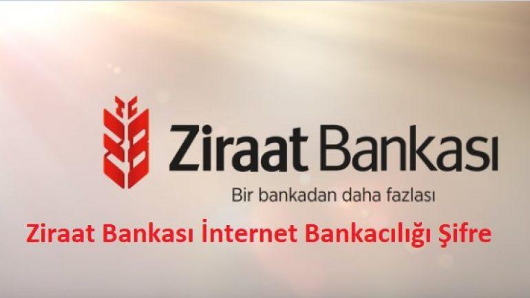 Ziraat Bankası İnternet Bankacılığı Şifre (Açtırma)