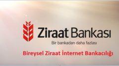 Bireysel Ziraat İnternet Bankacılığı (Onay, Giriş)