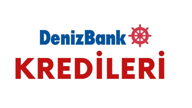 Denizbank Kredi Başvurusu | Denizbankası İhtiyaç Kredisi 2020