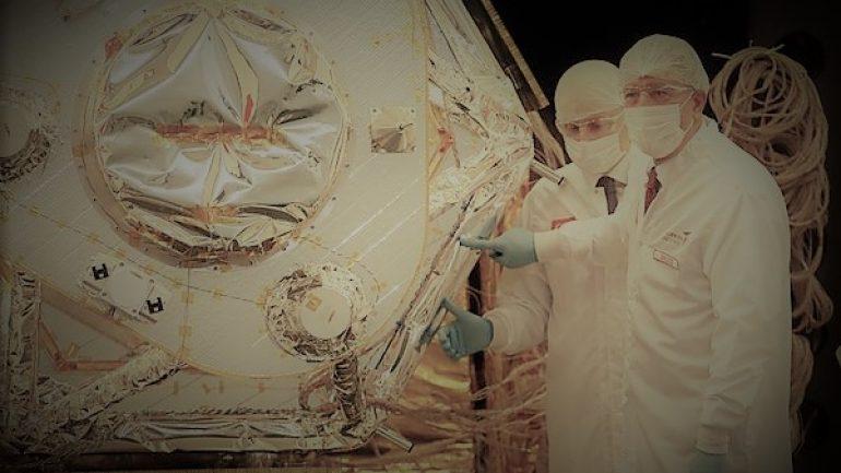 Gözlem Uydusunun Son Montajını Bakanlar Yaptı