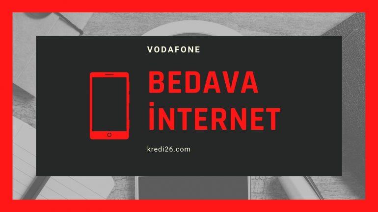 Vodafone Bedava İnternet 2021 | Ücretsiz İnternet Kampanyası
