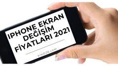 iPhone Ekran Değişim Fiyatları 2021 | Apple iPhone Kırık Ekran Değişimi