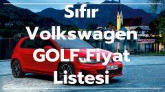 Sıfır Volkswagen GOLF 2021 Fiyat Listesi |  Volkswagen Golf Fiyat Listesi