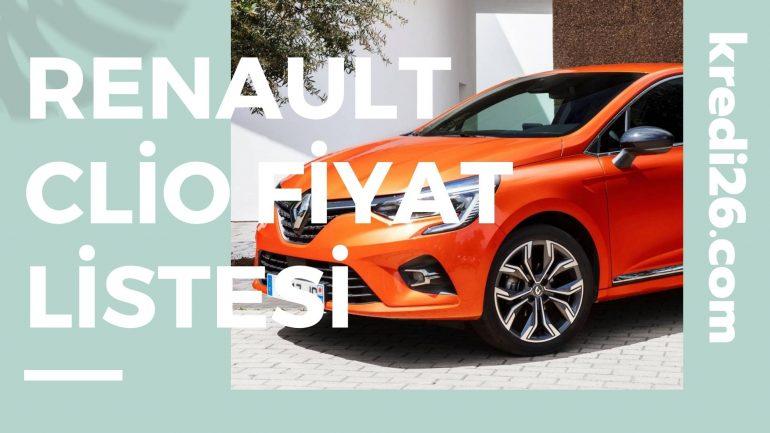 Renault Clio 2021 Fiyat Listesi | Renault Binek Araç Fiyat Listesi
