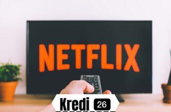 Netflix 1 Ay Ücretsiz